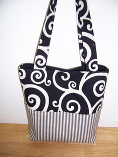 Purse PDF SEWING PATTERN  Aivilo Pocket Tote by aivilocharlotte, $7.95