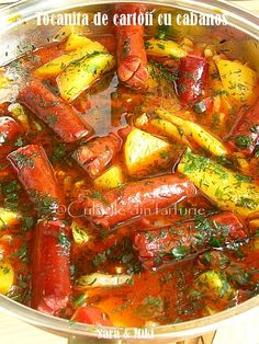 Tocanita de cartofi cu cabanos ~ Culorile din farfurie