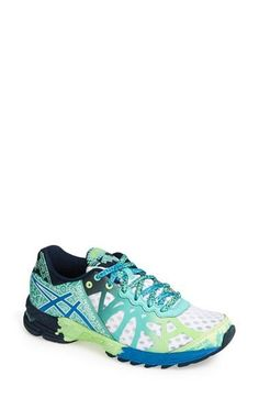 Cute colorful asics running shoes