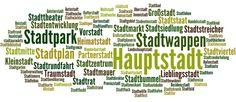Stadt - Deutscher Wortschatz