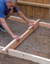 Backyard Patio Designs, Backyard Projects, Outdoor Projects, Garden Projects, Backyard Landscaping, Patio Ideas, Backyard Ideas, Concrete Walkway, Paver Walkway