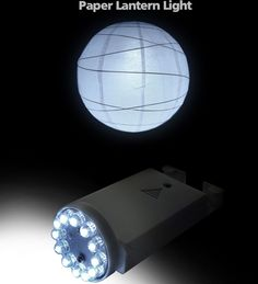 Super Bright Paper Lantern Lights 12 white LED $4.50 each / 12 for $4 each - Most affordable & brightest paper LED lanterns