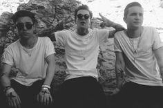 zach abels, jesse rutherford, mikey margott. the nbhd // the neighbourhood.