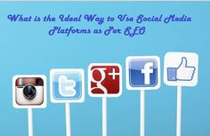 What is the Ideal Way to Use #SocialMedia Platforms as Per #SEO – #smo #socialmediamarketing