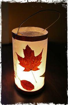 Leaf Lantern Tutorials