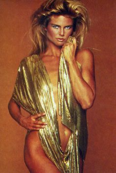 Christy Brinkley, started modeling in 1973 at 19yo appearing on 3 covers of Sports Illustrated 1979, 1980 & 1981