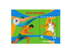COLLECTORZPEDIA Team Philippines Olympics, Philippines, Stamps, Logos, Seals, Logo, Postage Stamps, Stamp