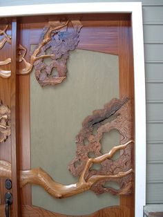 Oak Tree Door