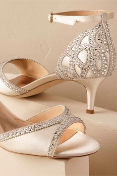 50ac85046ea BHLDN Chaumont Heels in Bride Bridal Shoes  amp  Accessories
