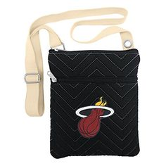 NBA Miami Heat ChevStitch Cross Body Purse * See this great product.