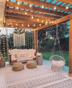 Small Backyard Design, Backyard Patio Designs, Small Backyard Landscaping, Backyard Ideas, Backyard Pools, Patio Ideas, Pergola Ideas, Porch Ideas, Design Jardin