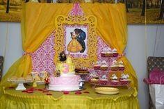 Beauty and the Beast Birthday!