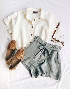Cute outfits for teens summer fashion outfits 2019 vintage summer outfits, casual summer clothes, Boho Outfits, Retro Outfits, Fashion Outfits, Woman Outfits, Vintage Summer Outfits, Fashion Ideas, Fashion Trends, Casual Outfits For Teens Summer, Casual Trendy Outfits