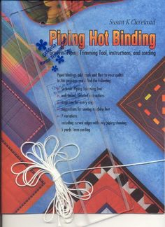 Piping Hot Binding by Susan Cleveland