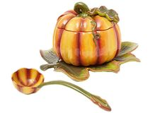 Pumpkin Tureen on OneKingsLane.com