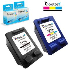 Cartucce d'inchiostro per HP 21 22 21XL 22XL Deskjet 3910 3915 3918 3920 3930 3938 3940 D1311 D1500 D1530 D2300 F2100 F2280 F4100 F4180