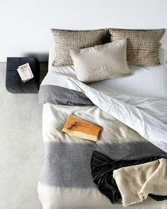 These hazy blankets are a perfect neutral backdrop. Photo by Aya Brackett.