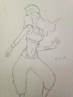 Sketch: Hip-Hop Dancer <3