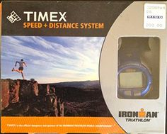 Timex Speed Distance System Ironman Triathlon Watch and GPS * Continue to  the product at the