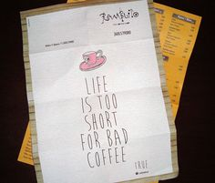 Ramblito: Die Ramblas auf griechisch. Corporate Design für einen Coffee Shop