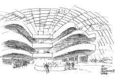 Architectural Sketch | Norman Foster
