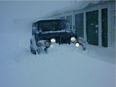 We don't need no stinkin' plow #Jeep
