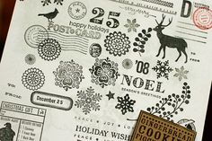 Make an index card of all your stamps, so you can see them all at a glance.