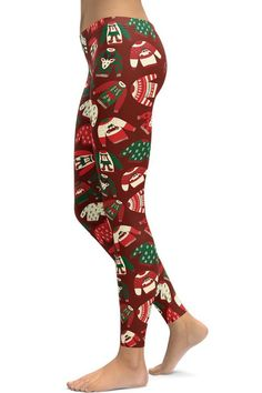 This holiday season, give your friends and family the gift of comfort with some adorable printed Christmas leggings! Shop now Christmas Party Outfits, Holiday Party Outfit, Athleisure Outfits, Athleisure Fashion, Spring Outfits, Winter Outfits, Casual Outfits, Christmas Leggings, Ugly Christmas Sweater