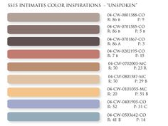 Spring / Summer 2015 intimates color trends, neutral color palette, lovely neutrals