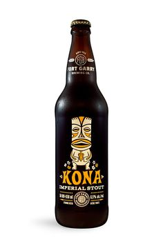 Kona Imperial Stout, A Craft Beer Brewed With Kona Coffee Beans - Sounds Delicious...