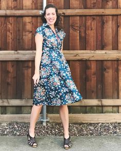 Birthday Penny Dress - sewing pattern from Sew Over It Vintage Sewing Patterns, Sewing Ideas, Sewing Projects, Sew Over It Patterns, Happy December, Slingbacks, Dress Sewing, Lovely Dresses, Resolutions