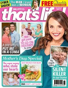 That's Life - 8 May 2013 #magazines #magsmoveme  http://www.thatslife.com.au/