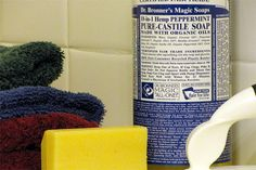 #springcleaning w @HouseLogic - Mix two cups hot water with a couple ounces of castile soap, and use it to clean countertops, sinks, drains, you name it. Increase the amount of soap in the mix for tough grease-cutting jobs.  #springcleaning