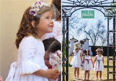 Trajes para pajes y damitas de boda, de Pikiliki