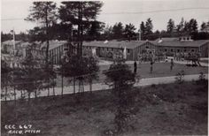 Camp Raco German POW Camp:    A lot of the German POW camps in Michigan were formerly CCC camps and filled mainly with Germans that were forced into service in Hitler's army that fought in Africa.