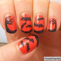 HPB October Halloween Mani Link-Up | Painted Fingertips