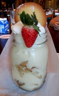 Pappadeaux Banana Pudding  - my favorite from there. Oh how I miss this place.  Such awesome food.