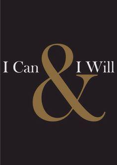 Eu posso e vou