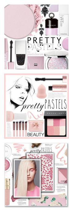 """""""Winners for Pretty Pastel Makeup"""" by polyvore ❤ liked on Polyvore featuring beauty, Guerlain, NARS Cosmetics, Jin Soon, Givenchy, Forever 21, Erno Laszlo, shu uemura, Fallon and makeup"""