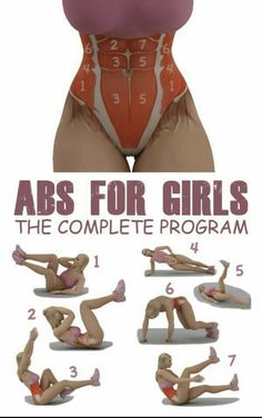 Girls can do more than just ab exercises! They can push weight too!