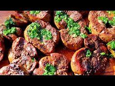 Riñones a la Manteca! Receta a la Chapa - Locos X el Asado - YouTube Carne Asada, Meat Lovers, Deli, Allrecipes, Baked Potato, Grilling, Food And Drink, Cooking, Ethnic Recipes