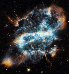 The planetary nebula NGC 5198, photographed by the Hubble Space Telescope. Picture: NASA/ESA/Hubble Heritage Team/AFP