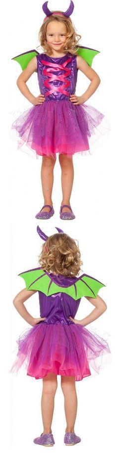 Jungen Karneval Fasching Verkle Kleiner Drachen der Unterwelt Kinderkostüm NEU