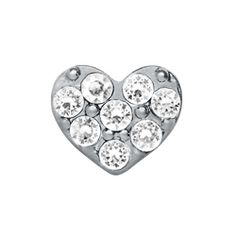 Crystal Silver Heart Charm   Every Locket Tells a Story. #whatsyourstory http://www.origamiowl.com/PWPShowProduct.aspx?ProgramCategoryId=2&ProgramProductId=625 #OrigamiOwl