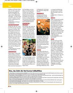 Titelgeschichte zur EM 2012,  erschienen in PRINZ Düsseldorf 06/2012, Seite 8/9