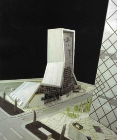 OMA Koolhaas TVCC – TELEVISION CULTURAL CENTRE, CHINA, BEIJING, 2002 A Television Cultural Center containing a theater, ballroom, cinemas, recording studios and exhibition facilities as well as a hotel. Competition, 1st prize