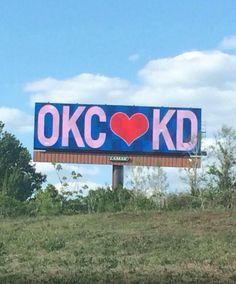 OKC loves KD
