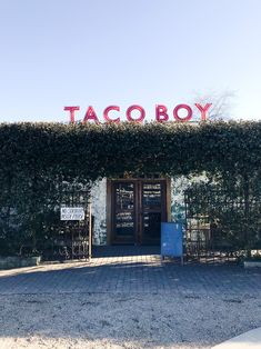 48 Hours in Charleston, South Carolina, Taco Boy - Treats and Trends