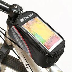 Weanas® Bike Bicycle Handlebar Frame Pannier Front Top Tube Bag Pack Rack X Large Waterproof for iPhone 6 6 Plus Samsung Mobile Phone Weanas http://www.amazon.com/dp/B00D87ECUQ/ref=cm_sw_r_pi_dp_xiTFvb14V9Y77