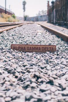 Alpha Gamma Delta Vintage Sign